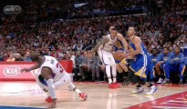 Steph Curry breaks Chris Paul's ankles